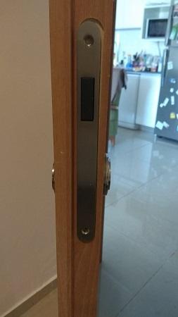תמונה של דלת מתוקנת